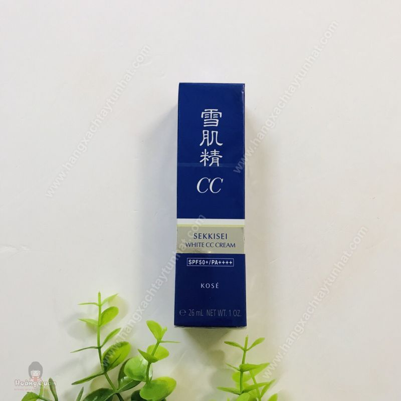 Kem trang điểm Kose Sekkisei White CC Cream (#01 Light Ochre) 26ml